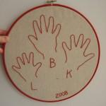 embroideredhandprints
