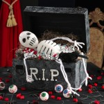 skeleton-coffin-centerpiece