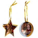 Easy Holiday Photo Ornaments