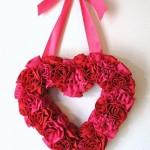valentinegatheredflowerwreath