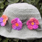 FREE PATTERNS CROCHET HATS WITH FLOWERS