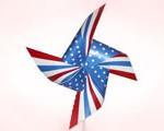 Fourth of July Printable Pinwheel