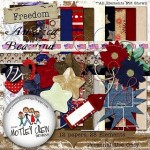 Free Patriotic Digiscrap Kits