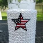 crochet glass cozy pattern