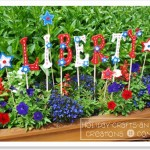 Patriotic Garden Words