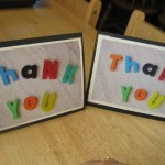 Thank You Letter Cards Craft