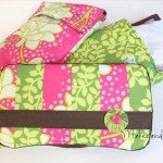 Diaper Tote and Wipes Case Tutorial