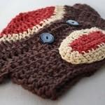 Sock Monkey Hat Crochet Pattern