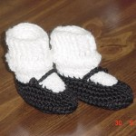 Baby Mary Janes Booties