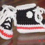 Baby Sneaker Booties Pattern
