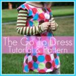 Little Girls Long Sleever Dress Pattern