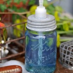 Mason Jar Soap Dispenser Tutorial