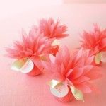 Dahlia Paper Wedding Favors Tutorial