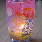 Drinking Glass Votive Holder Kids Craft