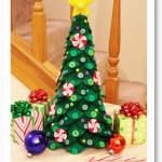 Felt Christmas Tree Centerpiece