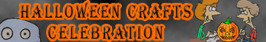 Halloween Crafts Celebration on AllCrafts.net