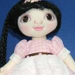 Wide Eyed Wendy Cloth Doll Pattern
