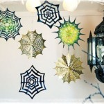 Paper Spider Webs Tutorial
