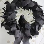 Spooky Black Wreath Tutorial