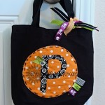 Easy Trick or Treat Bag Tutorial