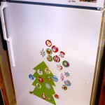 Printable Magnetic Christmas Tree Advent Calendar