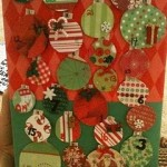 Recycled Box and TP Rolls Advent Calendar