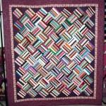 Basket Weave Strings Quilt Pattern