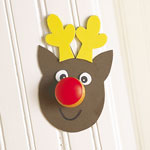Christmas Cupboard Door Decorations Tutorial