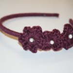 Crochet Flower Headband Pattern and Tutorial