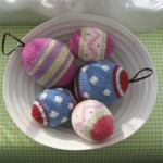 Knitted Easter Eggs Pattern