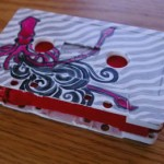 Recycled Cassette Tape Wallet