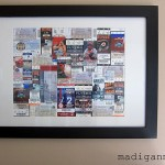 Sporting Events Ticket Art