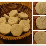 Nature Prints in Sculpey