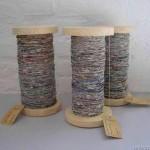 Recycled Newspaper Yarn