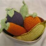 Fruit and Veggies Free Knitting Patterns