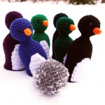 Penguin Bowling Set Crochet Pattern