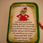 Grinch Pills Christmas Printable