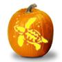 Wild Animal Pumpkins Stencils