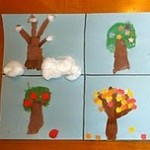 Apple Tree Seasons Kids Craft