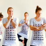 Maternity Calendar Shirt Tutorial