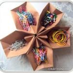 Origami Craft Organizer Tutorial