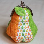 Pear Coin Purse Sewing Pattern