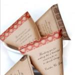 Easy DiY Wedding Favor Bags