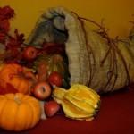 Thanksgiving Cornucopia Tutorial