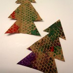 Bubble Wrap Christmas Tree Kids Craft