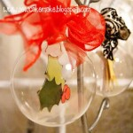Silhouette Glass Ornaments Tutorial