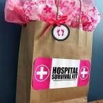 New Mom Hosptial Survival Kit