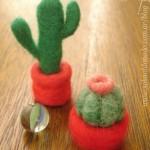 Needle-Felted Cactus Tutorial