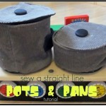 Pots and Pans Sewing Tutorial