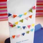 Mini Bunting Card Tutorial